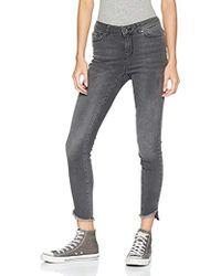 """Vero Moda - Seven Mid Rise Uneven Ankle Jean 30"""" Inseam - Lyst"""