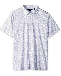 Perry Ellis - Big And Tall Short Sleeve Abstract Floral Shirt - Lyst
