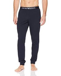 Emporio Armani - Iconic Logoband Trousers - Lyst