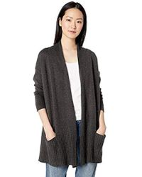 Daily Ritual - Cocoon Open-front Cardigan Sweater - Lyst