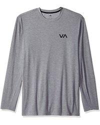 RVCA - Va Vent Long Sleeve Top - Lyst