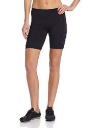Calvin Klein - Performance Shirred Biker Short - Lyst