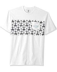 6912488336da3c Lyst - Gucci Cotton Shirt With Planet Applique in Blue for Men