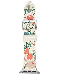 Kate Spade - 38mm Apple Watch Band, Floral Silicone, Kss0012 - Lyst