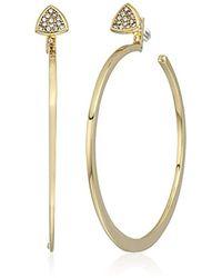 Vera Bradley - S Holiday Confetti Medium Hoop Earrings - Lyst