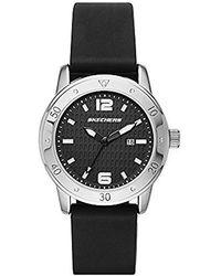 Skechers - Sr6049 Analog Display Quartz Black Watch - Lyst