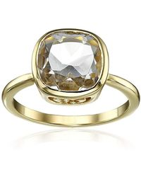 Cole Haan - Semi Precious Cushion-cut Ring, Size 7 - Lyst