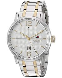 Tommy Hilfiger - 1791214 George Analog Display Japanese Quartz Silver Watch - Lyst