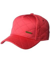 U.S. POLO ASSN. - Quilted Jersey Baseball Cap, Curved Brim, Adjustable - Lyst
