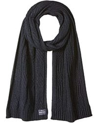 Nautica - Cable Knit Scarf - Lyst