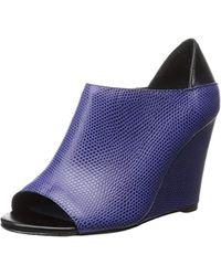 0e0b56c4cac4 Lyst - UGG Peep Toe Platform Espadrille Wedge Sandals Delmar in Natural