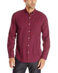 d562fb41777 Lyst - Calvin Klein White Label Slim Fit Tonal Stripe Dobby Shirt in ...