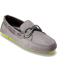 Cole Haan - Zerogrand Camp Moc Driver Driving Style Loafer - Lyst