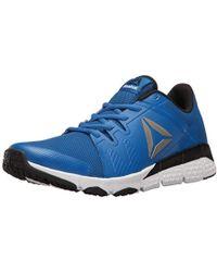 0a636d6c0f2 Lyst - Reebok Trainflex Cross-trainer Shoe in Blue for Men