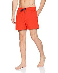 f70845d71a Tommy Hilfiger - Swim Trunks Solid Mid Length Inseam - Lyst