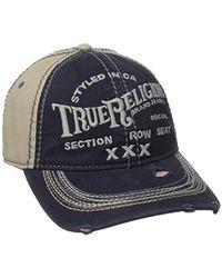True Religion - Triple X Cap - Lyst