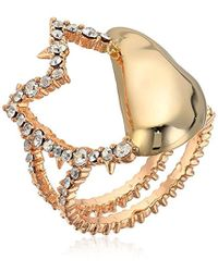 Alexis Bittar - Abstract Tulip Cocktail Ring - Lyst
