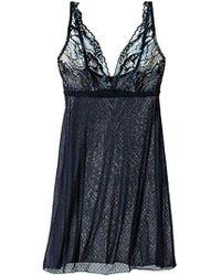 1c4b61d03438d Lyst - Cosabella Madeleine Lace Soft Bra in Black