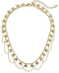 "Noir Jewelry - Abelle Choker Chain Necklace, 12"" + 3"" Extender - Lyst"