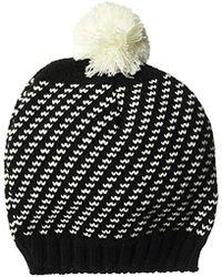 4c85977f774 Wigwam - Sporo Knit Beanie Acrylic Pom Hat - Lyst