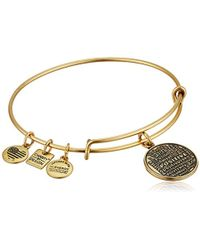 ALEX AND ANI - Charity By Design Joe Andruzzi Foundation Bangle Bracelet - Lyst