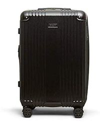 "Kenneth Cole - 24"" Abs With Brushed Pc Film Expandable 8-wheel Checked Luggage With Tsa Lock - Lyst"