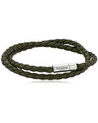 Tateossian - Scoubidou Pop Silver Double-wrap Bracelet - Lyst