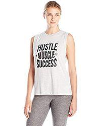 MINKPINK - Hustle Muscle Success Tank - Lyst