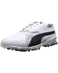 Lyst - PUMA Titantour Ignite Golf Shoe Gray violet white true blue ... dba1b82f4