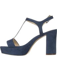 120ad69c1fff Lyst - Charles David Charles By Miller Open Toe Casual T-strap ...