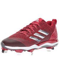 new style ba1a3 c42ab adidas - Freak X Carbon Mid Softball Shoe - Lyst
