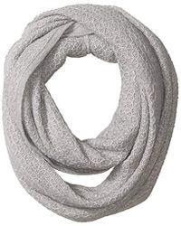 Calvin Klein - Texture Infinity Scarf, - Lyst