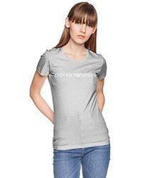 Emporio Armani - Iconic Logoband Crew Neck T-shirt - Lyst