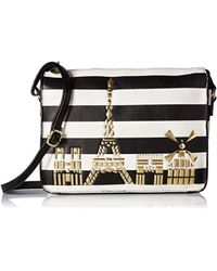 Betsey Johnson - Bets In The City Crossbody - Lyst