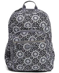 Vera Bradley - Iconic Xl Campus Backpack, Signature Cotton - Lyst