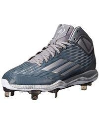 san francisco 1bb84 185ca adidas - Performance Poweralley 3 Mid Baseball Shoe - Lyst