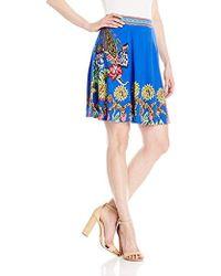 Desigual - Henry Knitted Short Skirt - Lyst