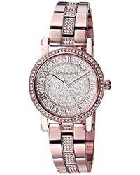 b7f46c82466c Lyst - Michael Kors Women s Petite Norie Stainless-steel Watch in ...