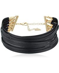 Guess - Multi-paracord Choker Necklace - Lyst