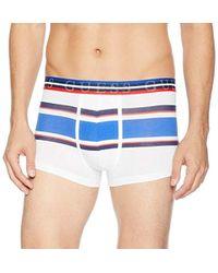 Guess - Multi Stipe Cotton Blend Boxer Trunks, - Lyst