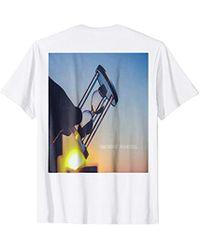 "Michael Kors - Michael: ""time Doesn't Stand Still"" T-shirt - Lyst"