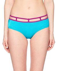 Guess - Cut Out Culotte Bikini Bottom - Lyst
