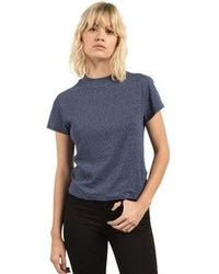 Volcom - Shell Short Sleeve Mock Neck Tee - Lyst