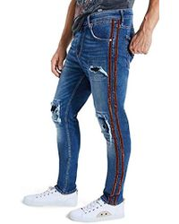 Guess - Utility Fit Jean Stripes - Lyst