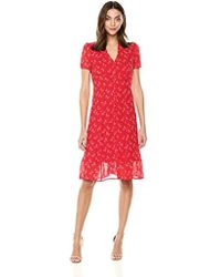 933d49267b Young British Designers · The Kooples - Floral Chiffon Long Dress - Lyst