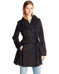 Laundry by Shelli Segal - Double Breasted Classic Trench - Lyst