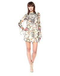 Haute Hippie - Through The Looking Glass Dress - Lyst