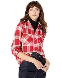 c9a66cf8a7cb Lucky Brand - Yarn Dyed Plaid Multi Shirt - Lyst