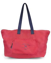 Nautica - New Tack Packable Large Tote With Front Pocket - Lyst