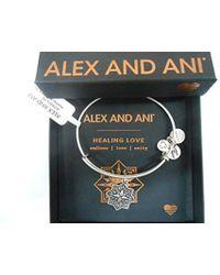 ALEX AND ANI - Healing Love Ii Bangle Bracelet, Expandable - Lyst